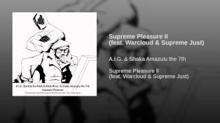 Supreme Pleasure II (feat. Warcloud & Supreme Just)