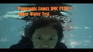 panasonic Lumix DMC-FT30 underwater videotest