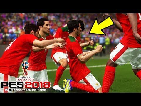 TIMNAS INDONESIA MASUK PIALA DUNIA 2018!!!!-FIFA WORLD CUP RUSSIA #1 (PES 2018 INDONESIA)