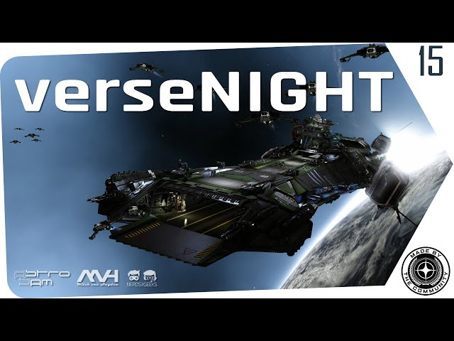 verseNIGHT | StarCitizen Talk mit AstroSam & Mitch van Hayden (German/Deutsch 10.03.2020)