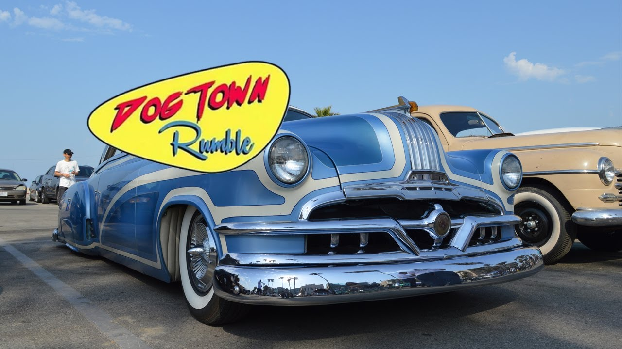 DOGTOWN RUMBLE | HOT RODS AND CLASSIC CARS VENICE BEACH - YouTube