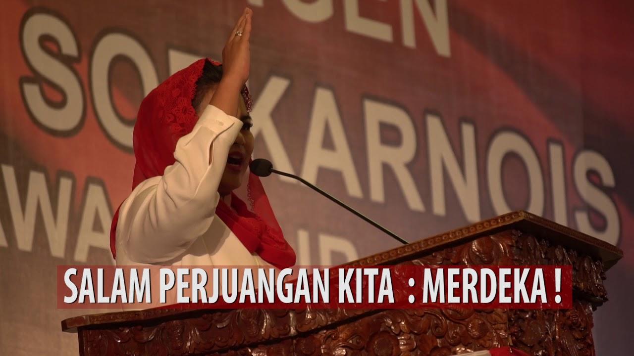 Momen Paling Berkesan Saat Temu Kangen Barisan Soekarnois di Surabaya
