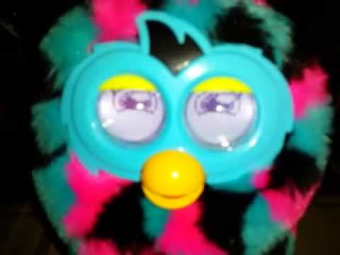 Wild and crazy/talkative furby boom personality - YouTube