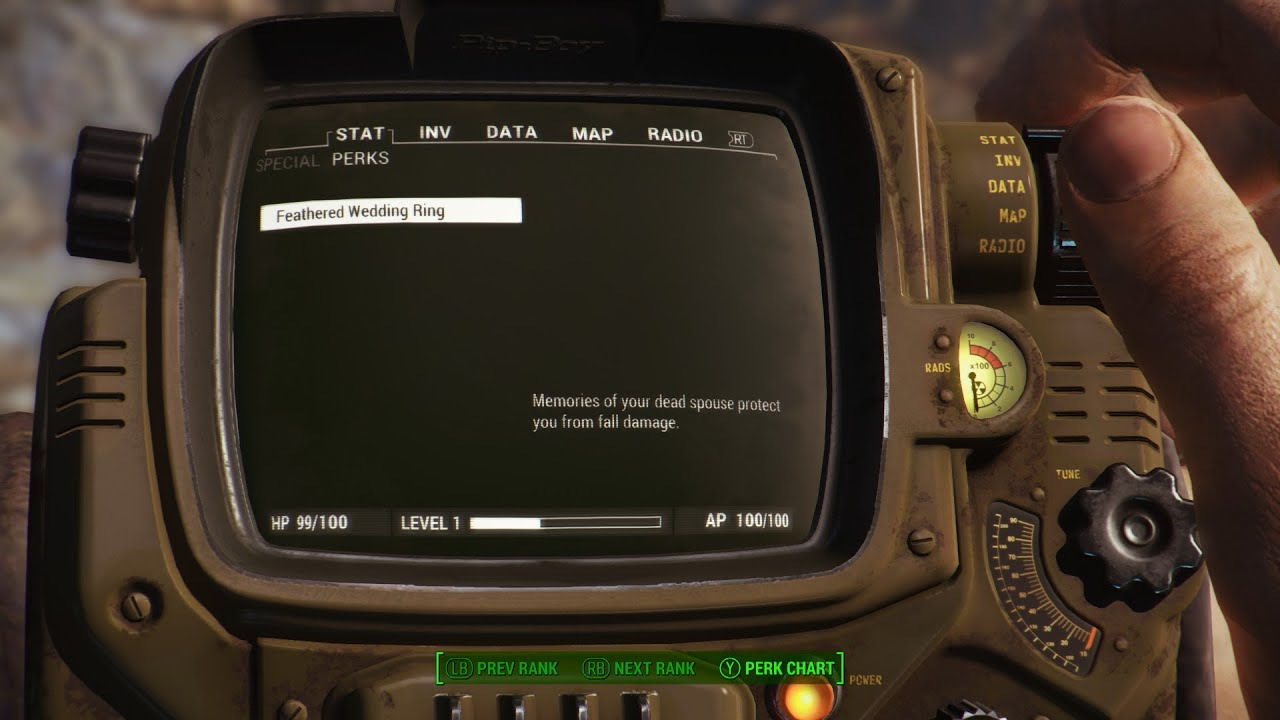 Fallout 4 Wedding Ring.Fallout 4 Feathered Wedding Ring Mod