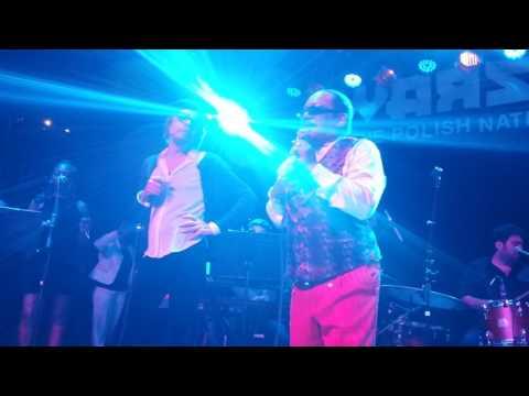 Archie Bell & David Johansen Showdown Live Brooklyn March 2017