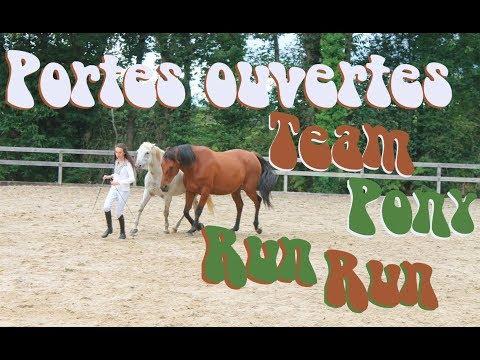 VLOG n°14 : Portes ouvertes Association Team Pony Run Run !