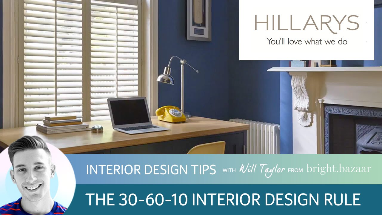 will taylor explains the 60 30 10 interior design rule On interior design 60 30 10
