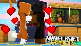 Minecraft FAMILY AFFAIRS - DAD KISSES ANOTHER WOMAN!! - donut the dog minecraft roleplay