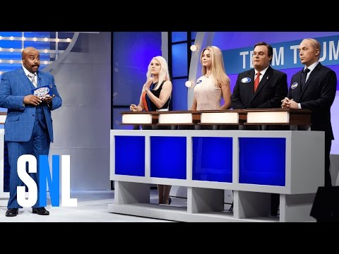 Celebrity Family Feud: Political Edition  SNL