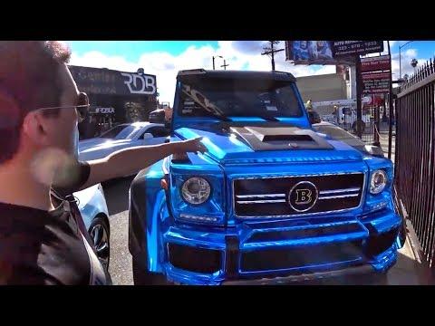 РАЗРЕЗАЛИ ГЕЛИК за 20М и сделали кабрик!) RDBLA – ателье в Лос-Анджелесе! Mercedes-Benz G 500 4x4