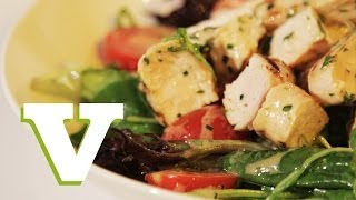 Chicken Salad With A Herb Vinaigrette: Back To Basics S01e6/8