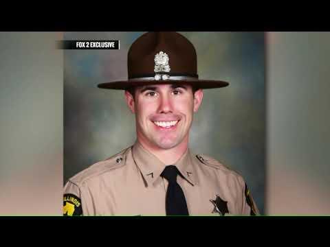 Widow Of Slain Illinois State Trooper Speaks