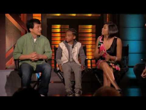 Jaden Smith, Taraji P Henson and Jackie Chan - Lopez Tonight (6/16/2010)