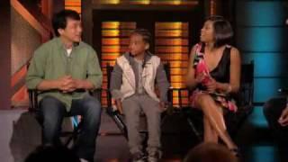 Jaden Smith, Taraji P Henson and Jackie Chan - Lopez Tonight (6/16/2010)