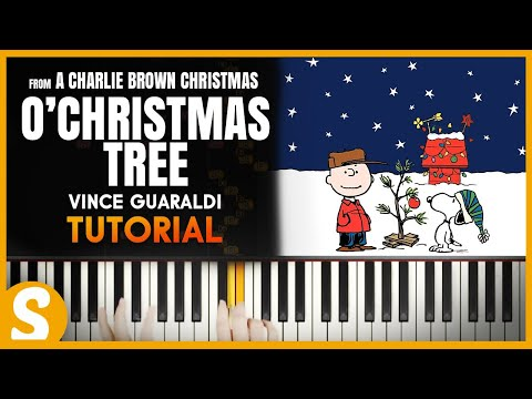 """How to play """"O Christmas Tree (O Tannenbaum)"""" by Vince Guaraldi  