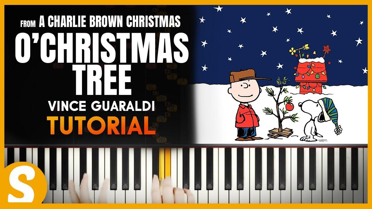 O Tannenbaum Piano.How To Play O Christmas Tree O Tannenbaum By Vince Guaraldi Smart Classical Piano
