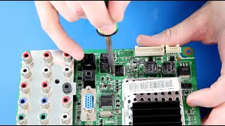 Samsung ТВ ремонт - головна плата ремонтний комплект для номерного BN41-00975