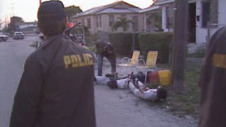 A Future TV Star Hits Miami's Mean Streets I: Crack House Raid