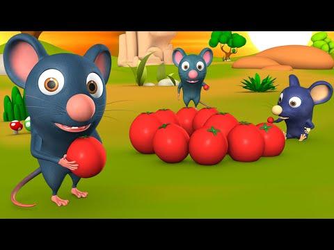 The ToTo Rat And Tomatoes Telugu Story టూటు ఎలుక మరియు టమాటాలు నీతి కధ 3D Animated Kids Fairy Tales