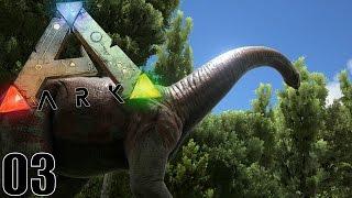 À LA RENCONTRE DES GRANDS DINOSAURES ! | ARK: Survival Evolved ! #Ep3