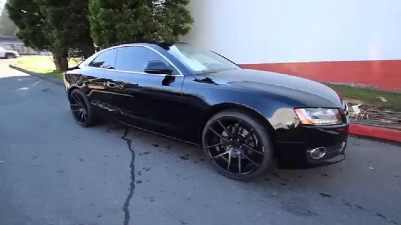 2009 Audi A5 3 2 Quattro Black 9a037488 Redmond
