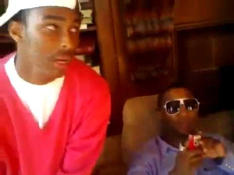 LIL B FROM THE SOD MONEY GANG GETS PUNCHED IN THE FACE IN INTERVIEW [  OFFICIAL VIDEO] 2010 NO FAKE !