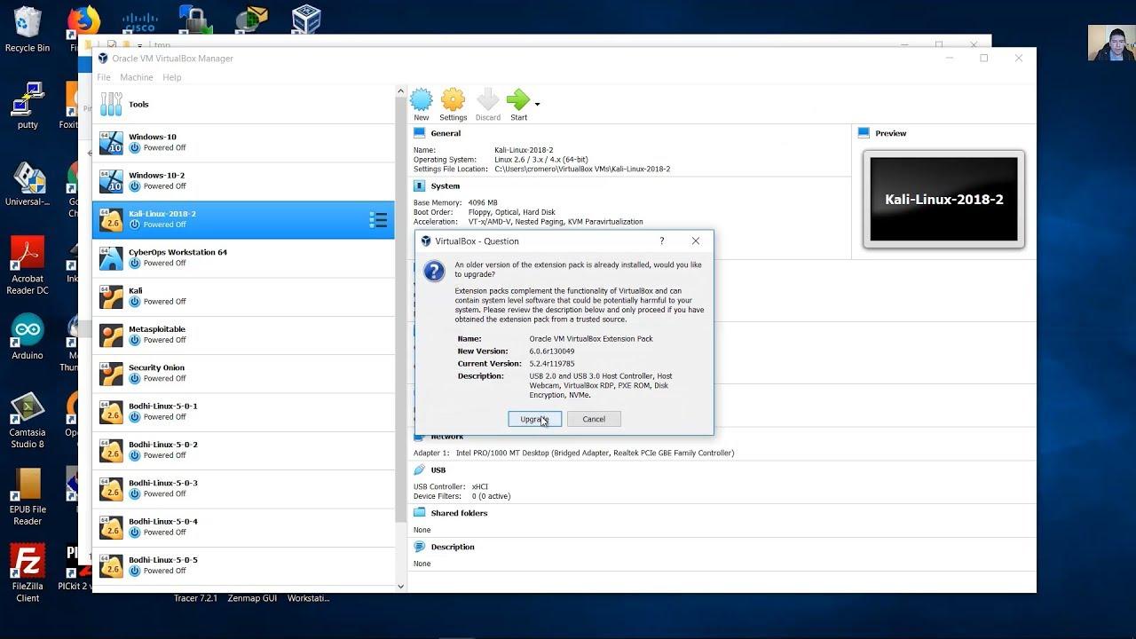 Instalar o Actualizar - Virtualbox 6 0