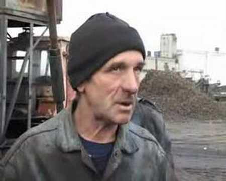 Ukraine worker