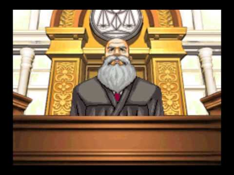 Image result for phoenix wright judge