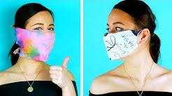 So geht's: Gesichtsmaske ohne Nähen in nur 5 Minuten