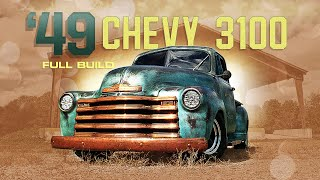 FULL REBUILD: 1949 Chevy 3100 Truck with a Hopped Up Straight Six and Patina Paint