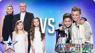 Côr Glanaethwy vs Bars & Melody | Britain's Got Talent World Cup 2018