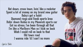 Old Town Road - Lil Nas X ft. Billy Ray Cyrus (Cover by Alexander Stewart) (Lyrics)