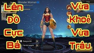 Leo rank CT cực ĐƠN GIẢN với con bài Wonder Women - Bất tử khi solo đường - Liên Quân Mobile