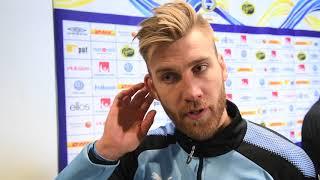 Rasmus Bengtsson efter matchen mot Elfsborg