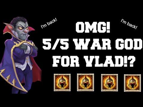 I Got A 5/5 War God! - Castle Clash