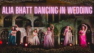 Alia Bhatt Dancing at her Friend's Wedding Function   Jalebi Baby   Genda Phool   Bollywood Wedding