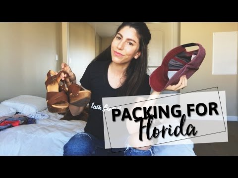 Packing for FLORIDA | In a Carry On Bag!