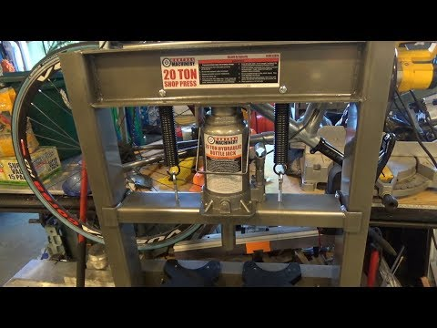 Improvements to a Harbor Freight 20 Ton Hydraulic Press