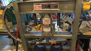 Improvements to a Harbor Freight 20 Ton Hydraulic Press Part 1