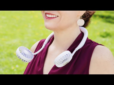 Time Concept | Wearable Portable Fan
