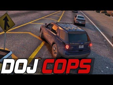 Dept. of Justice Cops #412 - Impersonators