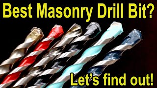 Best Masonry Drill Bit Brand? Let's find out!