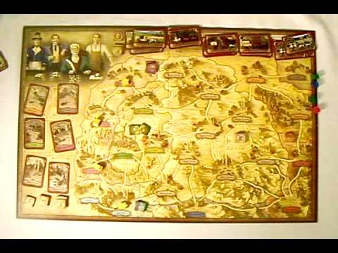 Board Games with Scott 019 - Thurn and Taxis