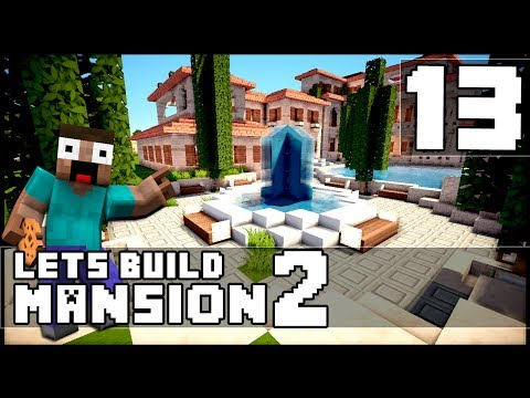 how to make a mansion in minecraft pc