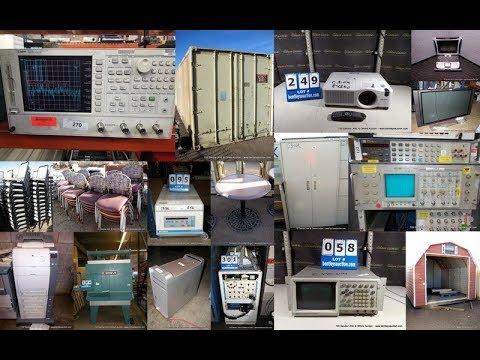 720 Sandia, LANL, UNM, NMT & Others 2 Day Surplus Auction Lot # 3001   3,577 & 5001