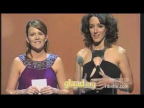Jennifer Beals and Laurel Holloman at the 19th Glaad Awards