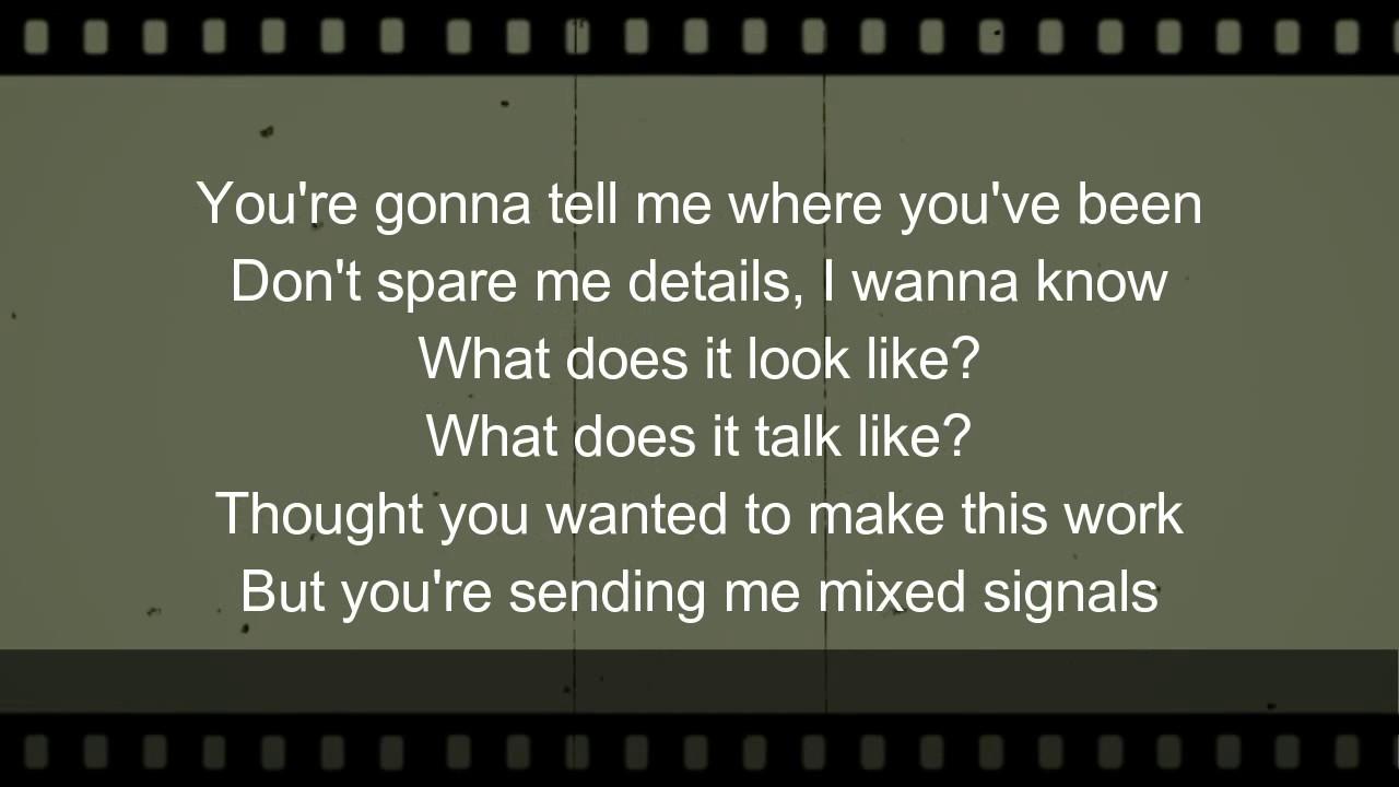Sending mixed signals
