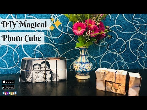 Rentoys DIY:: Magical Photo Cube