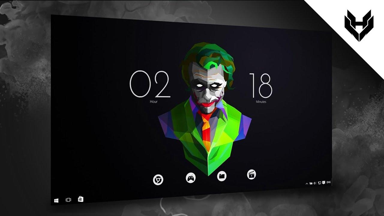 Windows  Joker Edition Joker Skin Rain Meter  Customization